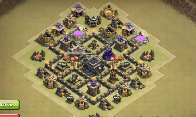 ayuntamiento 5 - clash of clans 2 7